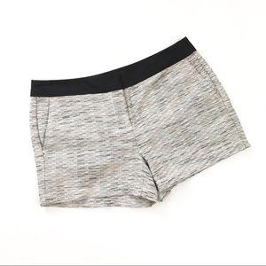 Ann Taylor Loft Tweed Gray Shorts